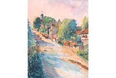 Countryside Town Scene on OneKingsLane.com