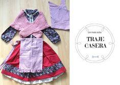 my kitsch world Apron, Tenerife, Sewing, Kitsch, Patterns, Ideas, Fashion, Ruffle Skirt, 3 Year Olds