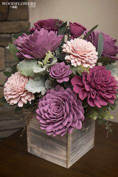 Sola Wood Flowers, Wooden Flowers, Faux Flowers, Fabric Flowers, Funeral Flowers, Wedding Flowers, Wedding Bouquets, Paper Flowers Craft, Flower Crafts