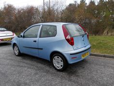 2004 Fiat Punto 1.3 multi jet Diesel. Very very economical and goes very very well.