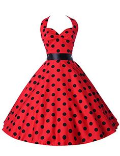 Shop the latest styles of Threeseasons Women Vintage Dresses Polka Dots Swing Cocktail Party Dress at Amazon Women's Clothing Store. Free Shipping+ Free Return on eligible item