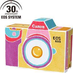 ☝️簡単無料ダウンロードで作れちゃいます!☺✂https://goo.gl/AKIQhs カワイイほっこりデザインのカメラ ボックスです♡(*ꆤ.̫ꆤ*) カメラ小物の整理や、ちょっとしたプレゼントにも使って頂けます Canon EOS 30th✨Canon Creative Park 20th✨Anniversary # EOS650 #CanonCreativePark  #ペーパークラフト #カメラ #一眼レフ #Canon #ギフトボックス #プレゼント