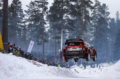 WRC: DAY 2 OF THE 2017 RALLY Sweden   DRIVETRIBE