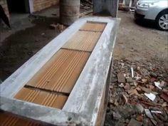 gabarito para levantar uma parede de tijolos, faça você mesmo.pratico e fácil,economia de massa e cimento.material utilizado pvc expandido, mas pode ser de m...