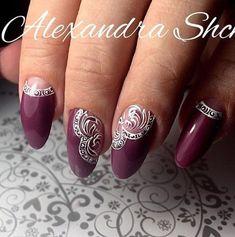 You don't need to choose the same nail art patterns over and over again. Nails Only, My Nails, Gel Nail Art, Acrylic Nails, Elegant Nail Art, Nagellack Trends, Lace Nails, Bridal Nails, Stylish Nails