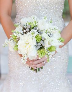Jeweled Bridal Bouquets