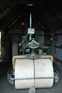 Road Roller 'Billy's' shed, Ironbridge Cool Sheds, Studio, Studios
