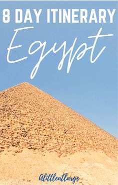 The ultimate guide on how to make the most out of Egypt travel! From the best time to see the pyramids in Cairo to how much time you need to wander ancient temples in Luxor, this Egypt itinerary has it all! #egypt #egypttravel #africa #traveldestinations #besttraveltips #travelitinerary Family Adventure, Adventure Travel, Travel With Kids, Family Travel, Travel Guides, Travel Tips, Luxor Temple, Great Pyramid Of Giza, Valley Of The Kings