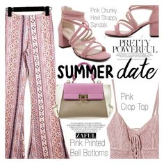 """""""Summer Date: Rooftop Bar"""" by vanjazivadinovic ❤ liked on Polyvore featuring Jens Pirate Booty, Salvatore Ferragamo, polyvoreeditorial, summerdate, Poyvore, zaful and rooftopbar"""