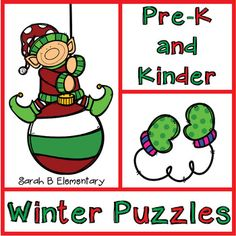 Your students will be counting and matching, while completing these winter-themed puzzles. Students will have to put the numbers 1-9 in order to complete the puzzles. If students haven't memorized the number symbols yet, they can use the puzzle workmat to match the numbers in the right order, and check themselves by using the picture as a guide.