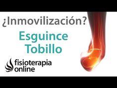 Esguince de tobillo, ejercicios y rehabilitacion fase 1 - YouTube
