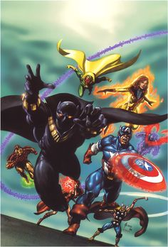 Avengers by Joe Jusko
