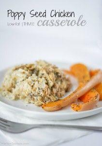 Poppy Seed Chicken Casserole
