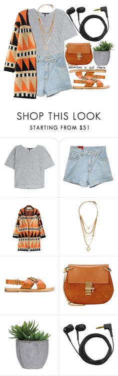 """cowboy"" by kianahall ❤ liked on Polyvore featuring rag & bone, Lulu Frost, Isabel Marant, Chloé, Lux-Art Silks, Sennheiser, women's clothing, women's fashion, women and female"