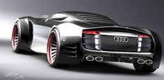 Audi R10 futuristic concept