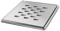 Our square shower drain covers, grates & gullies come in a choice of brushed stainless steel or polished chrome plate on brass. Drain Cover, Floor Drains, Shower Drain, Wet Rooms, Brushed Stainless Steel, Chrome Plating, Polished Chrome, Mood, Flooring