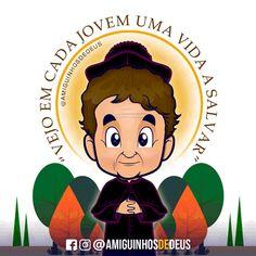 Oração a São João Bosco ~ Amiguinhos de Deus Dom Bosco, Corpus Christi, Spirituality, Fictional Characters, Art, St John Bosco, Colouring In, Dios, Saints