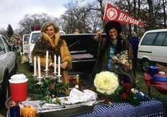Bring out your candelabra tailgates and your finest coat...it's Harvard/Yale aka the preppy super bowl!  Getty images #harvardyaleweekend #harvardyale #tailgate