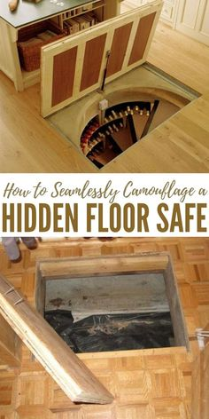 How to Seamlessly Camouflage a Hidden Floor Safe - Concealment is everything. When it comes to preparedness concealment is always a great option. Its an even better option when you are talking about your weapons.