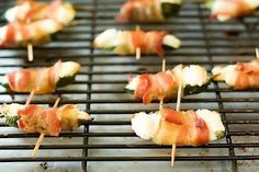 stick a fork in it: appetizers~bacon wrapped jalapeno bites