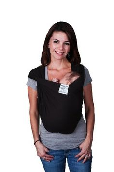 $50 - Baby K'tan Baby Carrier @ Amazon.com.  Multi-functional, ready-to-wear wrap, helps support your back, doctor-recommended.  Provides the positions & benefits of a sling, wrap, & carrier all in 1. Unlike some carriers, this has no buckles, snaps, rings, or hardware.