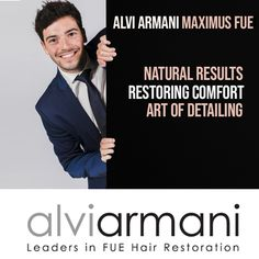 ALVI ARMANI Maximus FUE Provides You With 100% Natural Results, 100% Comfort, 100% Detail and Density! The Worlds Favourite Hair Transplant & Treatment Clinic Is Now In SA. Call Us on +27 10 312 6140 & Get Your Free Consultation! #AlviArmani #AlviArmaniMaximusFUE #FUESouthAfrica #CareForBaldness #HairRestoration #hairgrowth #HairTransplant #FUE #HairClinic #sandtoncity Hair Clinic, Hair Restoration, Hair Transplant, Hair Growth, Detail, Natural, Free, Hair Growing, Grow Hair