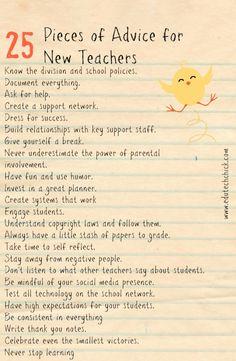 new teacher advice, tips for new teachers, classroom management, teaching