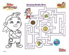 Cubby's Amazing Marble Maze