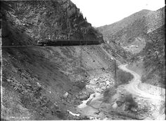 1899 - Colorado Midland Railroad - Ute Pass