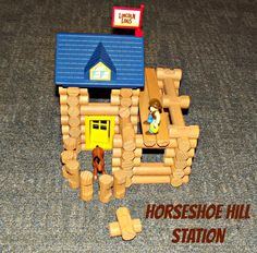 Lincoln Logs horseshoe hill station #review and #giveaway #KNEX