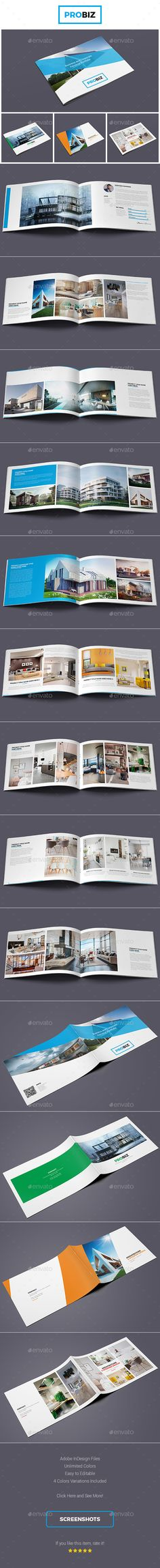 Minimal Fashion Photography Portfolio Brochure Template Indesign