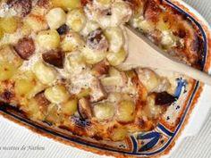Gratin de gnocchis aux figues, poires et Comté • Hellocoton.fr