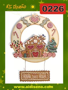 Navidad 2014 | maderacountry.mx Christmas Gingerbread, Gingerbread Cookies, Christmas Bulbs, Xmas, Christmas Ideas, Dough Ornaments, Country Paintings, Tole Painting, Country Christmas