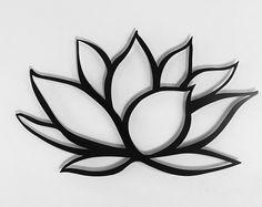 Items similar to Black Lotus Flower Metal Wall Art - Lotus Metal Art - Home Decor - Metal Art - Large Metal Wall Art -Silver Wall Art - Metal Wall Decor on Etsy Metal Leaf Wall Art, Silver Wall Art, Metal Flower Wall Decor, Outdoor Metal Wall Art, Metal Flowers, Metal Art, Lotus Tattoo Design, Lotus Flower Art, Lotus Flower Tattoos
