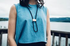 Infinity Bolo Necklace | REIF