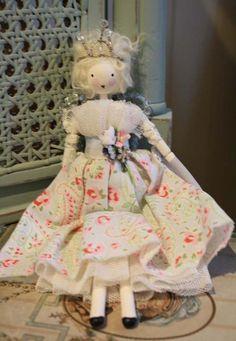 Beautiful Handmade Fairy Doll 'Honor'-handmade fairy doll christmas - Betty & Violet