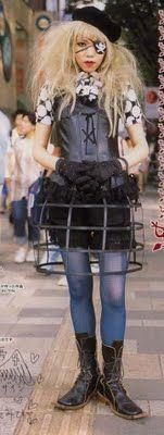 F Yeah Lolita: Cage Skirts