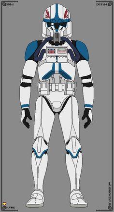 ''Hawk'' - 501st Legion by JackAubreySW