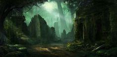 Dark forest ©KOMOREBI