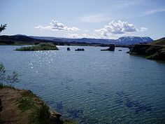 Islande - Le lac Mivatn - GOT film location
