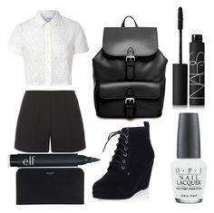 Untitled #71 by princess-sugar on Polyvore featuring polyvore fashion style Glamorous TIBI ASOS Yves Saint Laurent NARS Cosmetics OPI clothing