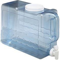 Arrow H2O Oasis 2.5 Gallon Beverage Dispenser, Blue
