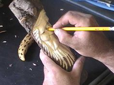 How to carve a wood spirit 4 (wood carving tips) - YouTube