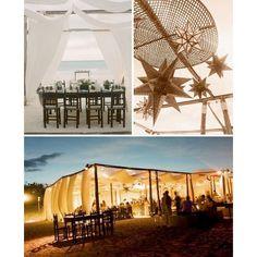 Rustic Beach Wedding Inspiration found on Polyvore