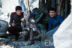 Nouvelle image avec Sofia Boutella pour Star Trek Beyond.