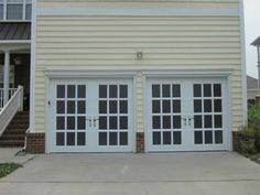 French Glass Garage Doors replacing a garage door with french doors | 368 sq ft | pinterest