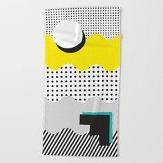 SHAPE SHIFTER Beach Towel / J3 Productions