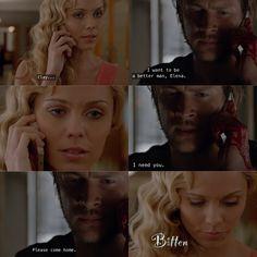 Bitten   Clay and Elena