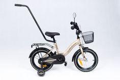 Rower BMX  14'' Tomabike Platinum złoto-czarny