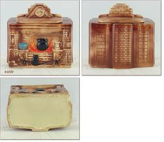 PRODUCED ONLY 1967-68, THIS IS MCCOY'S FIREPLACE COOKIE JAR
